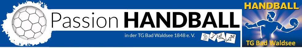 Passion Handball in der TG Bad Waldsee 1848 e.V.