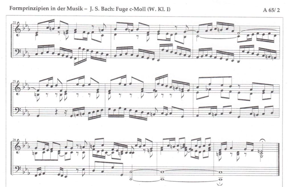 Fuge analysieren: Hilfe für die Hausaufgabe und Lösungen | Musik ...