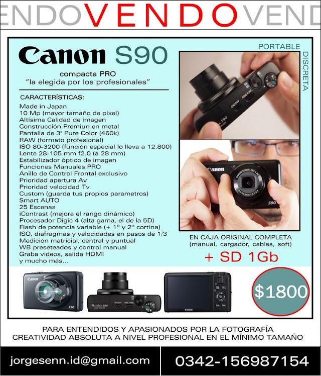 VENDO CANON S90