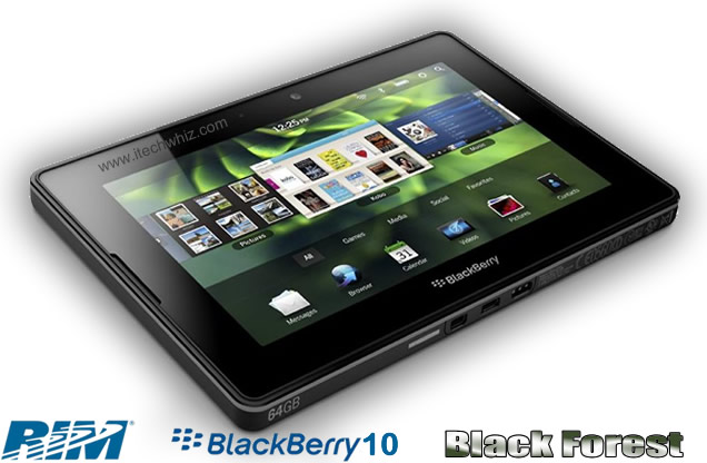 Blackberry Black Forest Tablet 2013 Specs and Features
