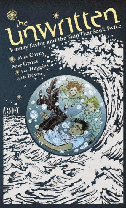 Tommy Taylor the Ship That Sank Twice - Mike Carey Peter Gross