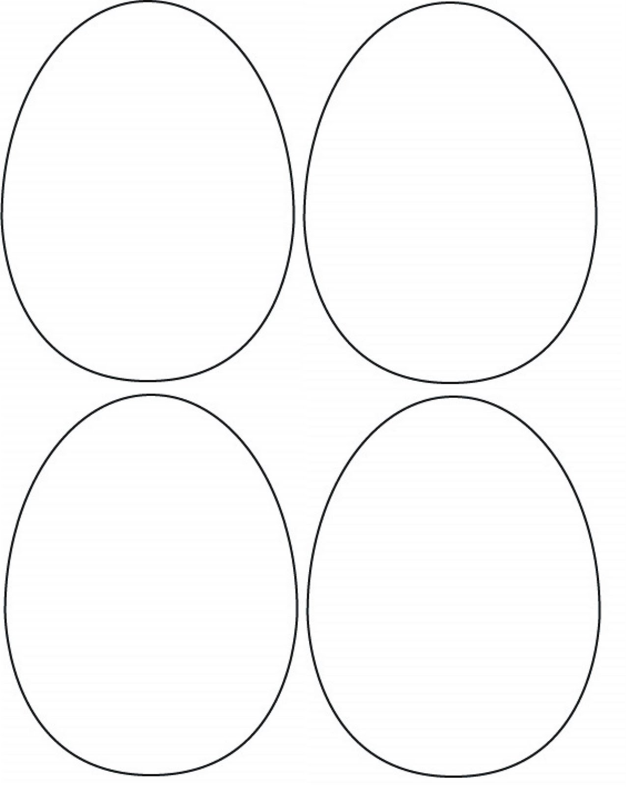 Ridiculous image throughout printable egg template