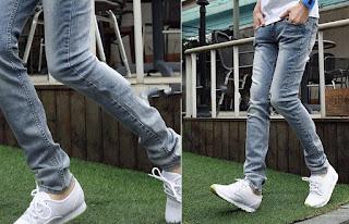 celana jeans cowok korea