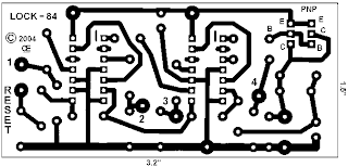 Electronic Combination Lock PCB