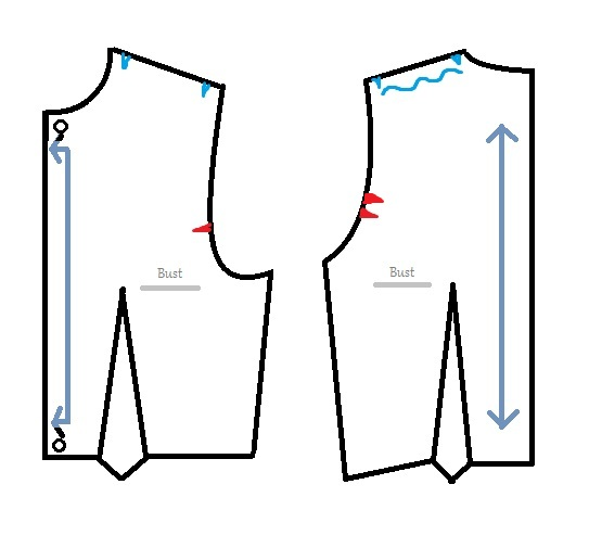How To Make A Dress Part Two Pattern Markings