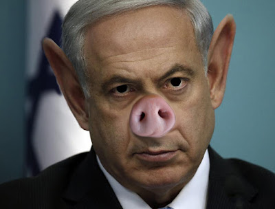 Prime Minister Netanyahu has surrounded himself with racists.