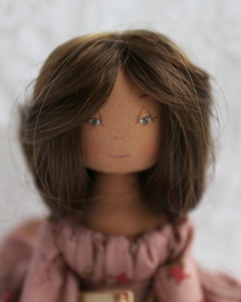 кукла текстильная интерьерная единственная 30см