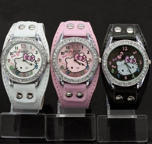 Set Of 3 Hello Kitty Watches