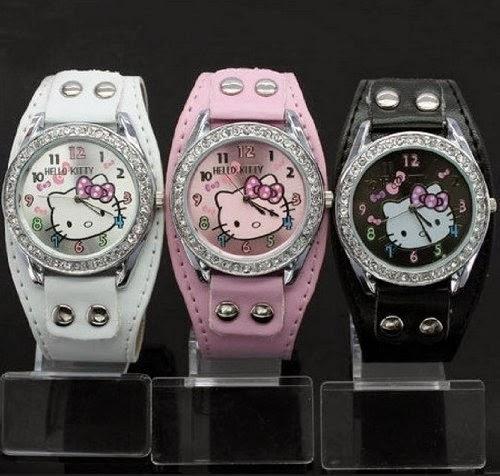 Set Of 3 Hello Kitty Watches