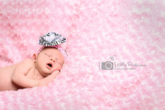 Girl Nursery, Newborn Photography, Kelly Portmann Photography, Plano TX Newborn