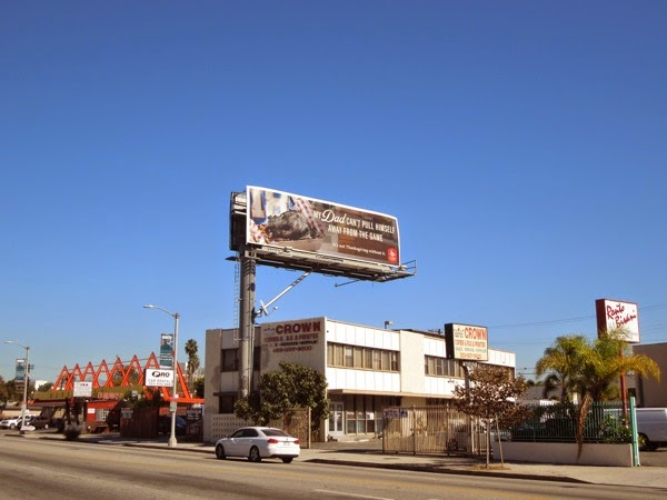 La Brea Bakery burnt turkey billboard