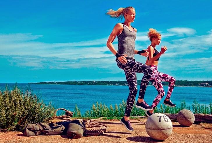 H&M Sports Spring 2015, H&M, Sports attire, sports wear