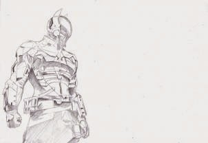 Drawing How To Draw The Arkham Knight Batman Arkham Knight