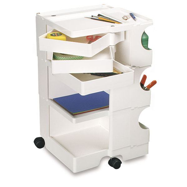 Art Storage Mobile Art Organizer Box On Wheels   Color : White. Store Your  Crafting And Art Supplies And Support Your Art Work In An Artist Taboret  Mobile ...