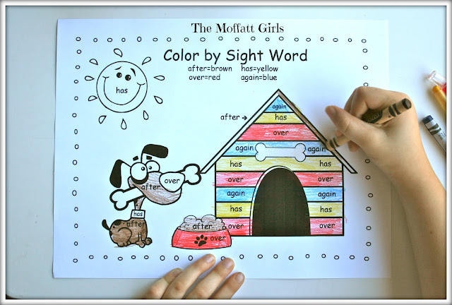 family graphing  word graphing  printable and sight word sight word with word graphing sight the