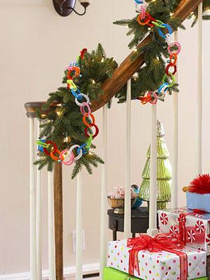 El blog de la navidad decoraci n navide a de escaleras for Adornos navidenos para escaleras