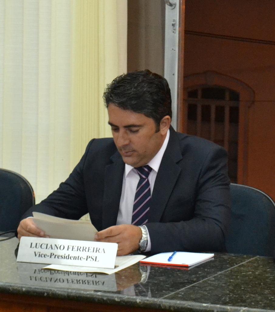 Vereador Luciano Ferreira