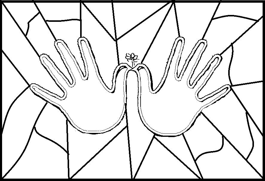 paraÍso do educando mosaico da paz