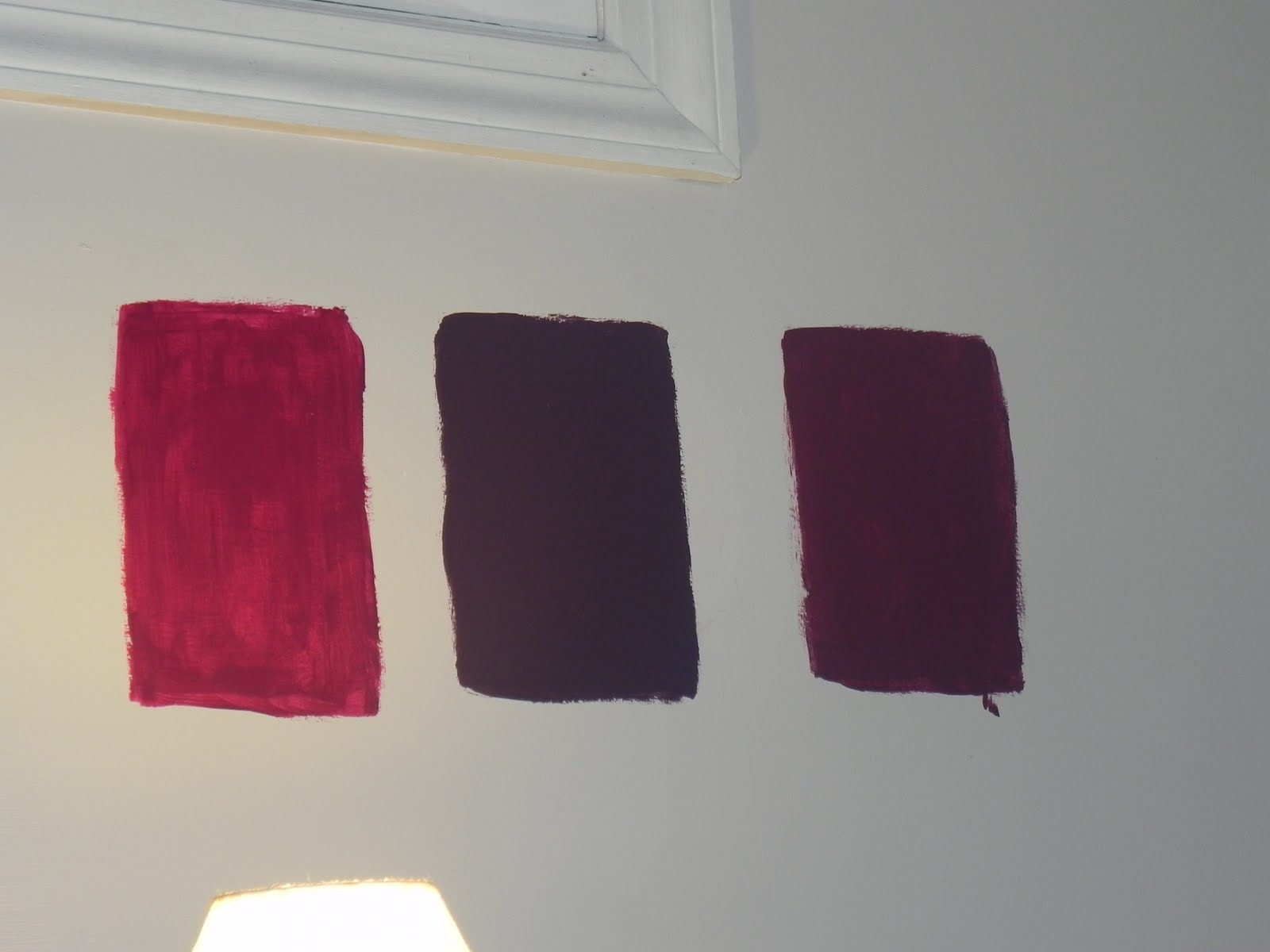 Plum Colors For Bedroom Walls Finished Breaking The Color Rules With Gliddentesters Momma D