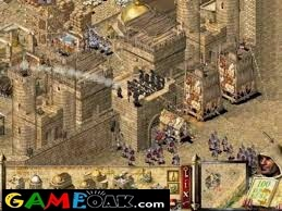 Fight in the castle of Stronghold