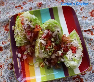 Wedge Salad by Carole's Chatter