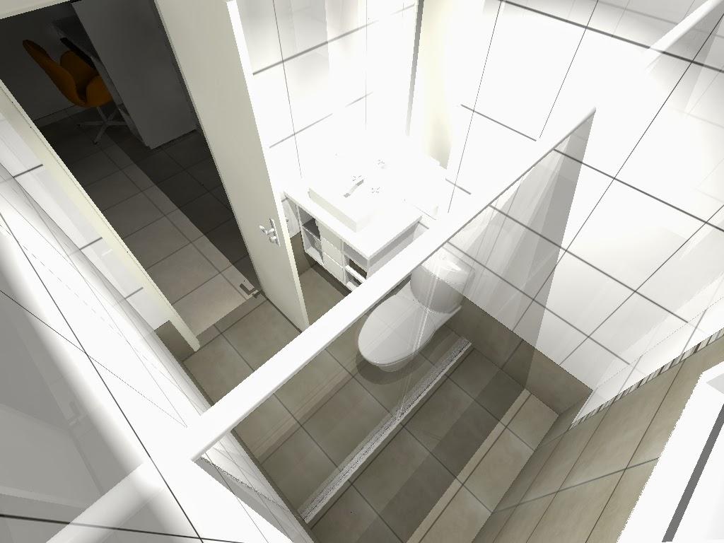 Para o quarto sugerimos utilização de papel de parede listrado nos  #575346 1024x768 Azulejo Listrado Banheiro