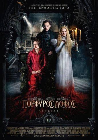 Crimson Peak (2015) ταινιες online seires xrysoi greek subs