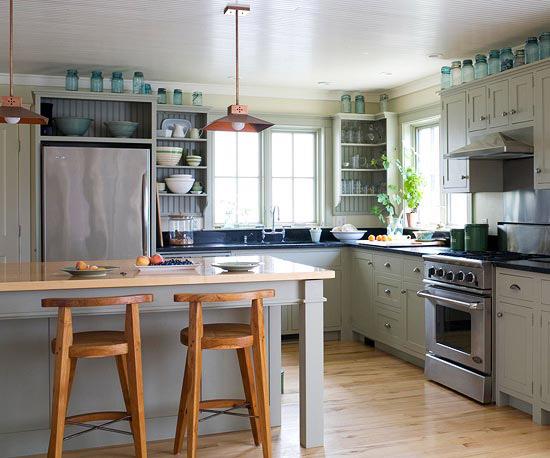 new home interior design find the perfect kitchen color scheme