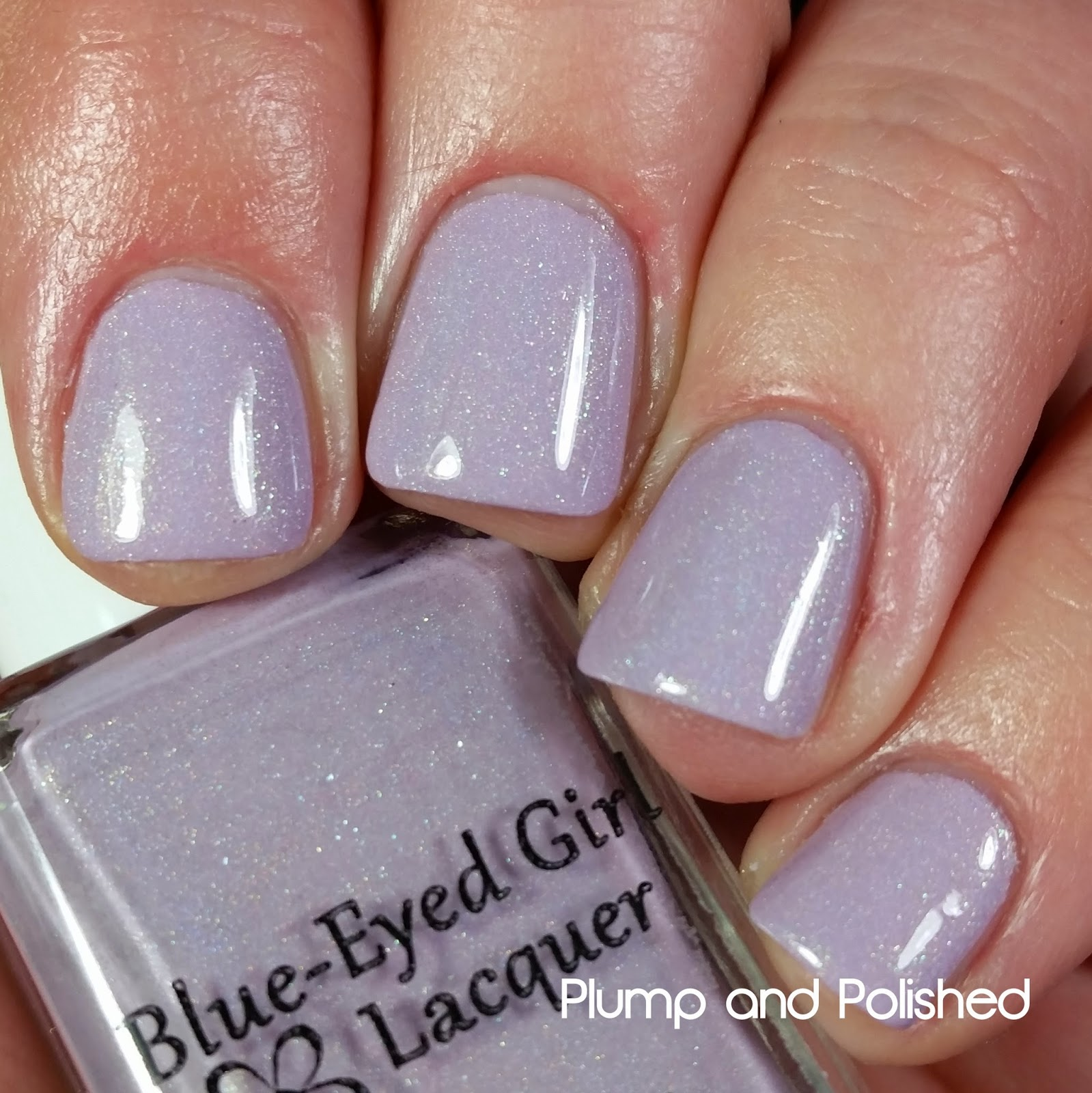 Blue-Eyed Girl Lacquer - Cotton Candy Clouds