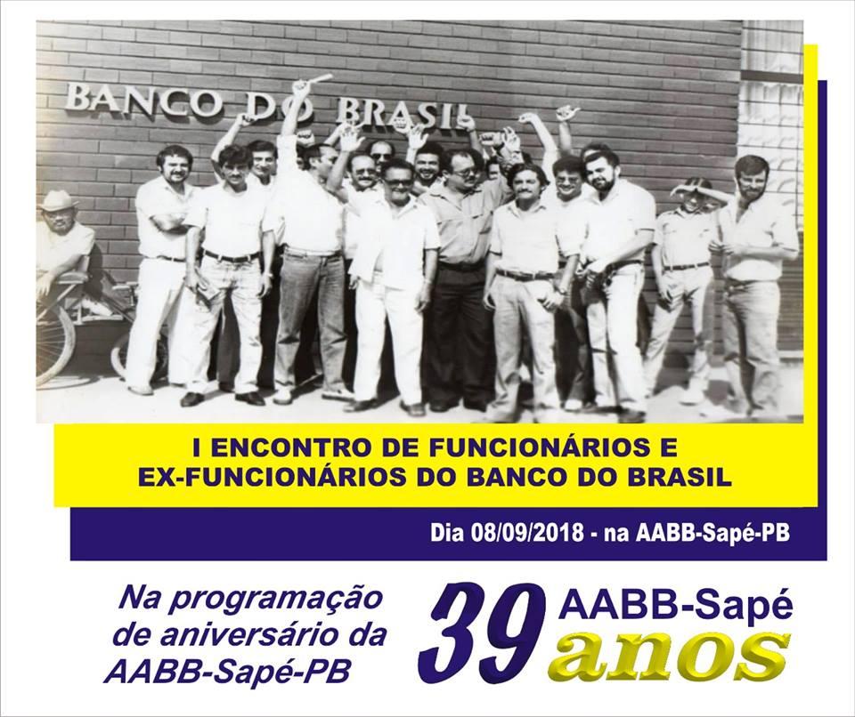 I ENCONTRO DE FUNCIONÁRIO E EX-FUNCIONÁRIO DO BANCO DO BRASIL
