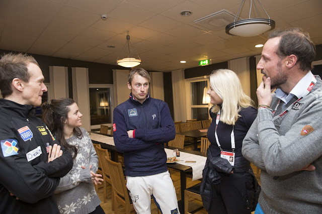 Royals at 2015 Nordic World Ski Championships in Falun
