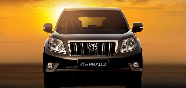 Toyota Land Cruise Prado nội thất sang trọng