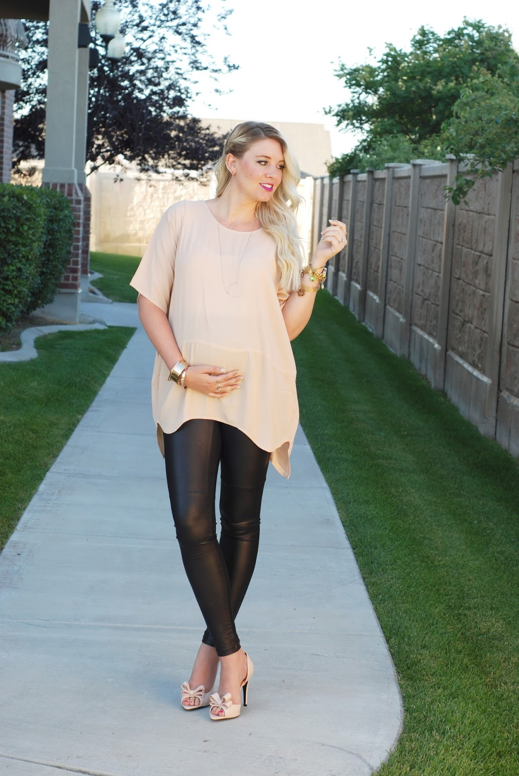 Asos leather look leggings review