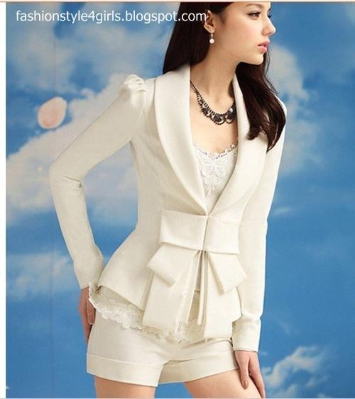 Casual Blazers For Girls | Outerwear Jackets 2013 | Winter Wear Ladies Blazers | Fashion Style4Girls