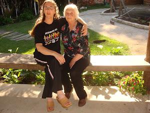 Eu e minha saudosa Mãe.