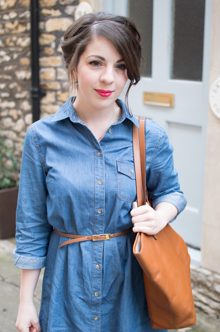 DOROTHY PERKINS DENIM DRESS