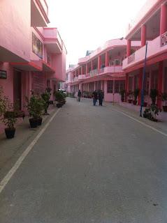 Bhakti Mandir, the ashram of Jagadguru Shree Kripaluji Maharaj