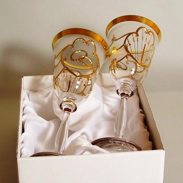 Cadeau de mariage verre