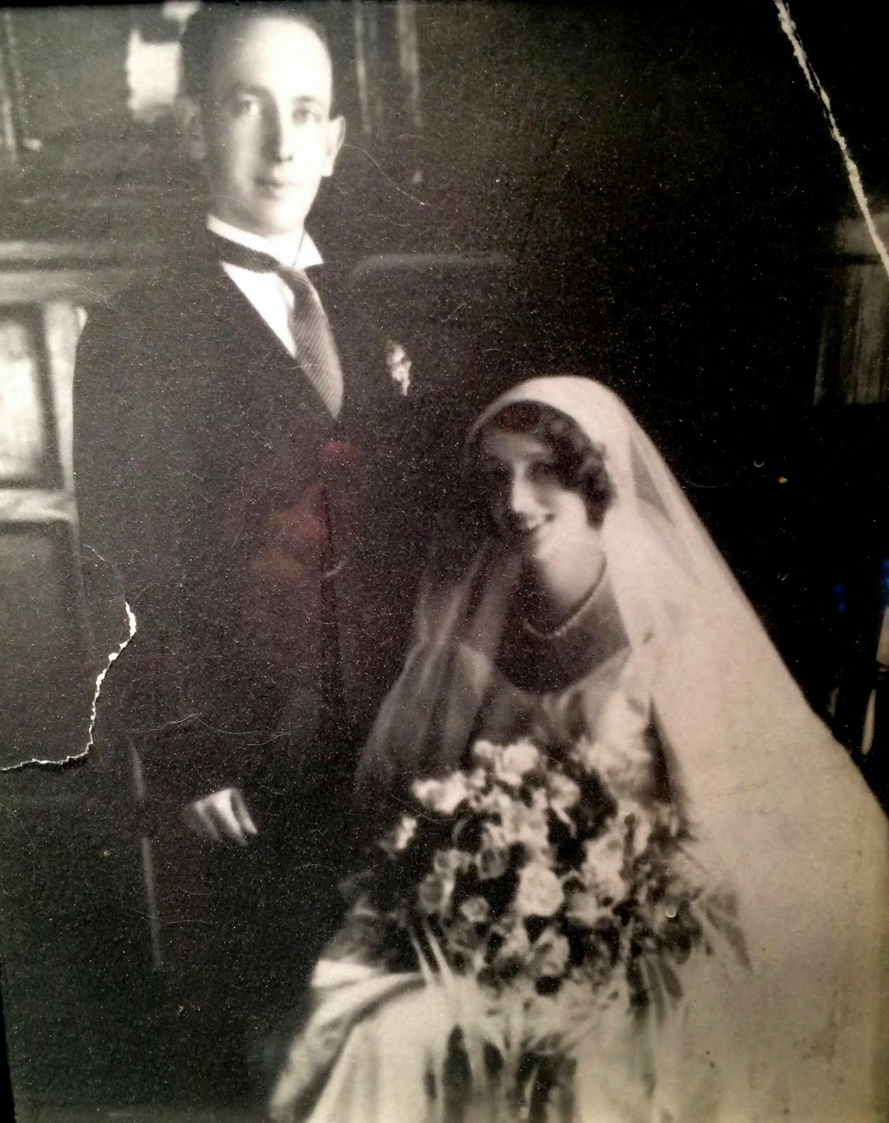 1929 Wedding Picture