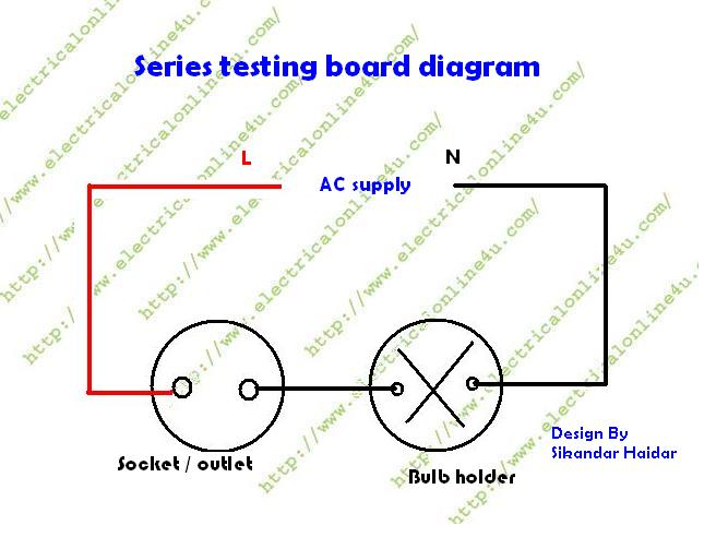 wiring diagram of series test lamp wiring image how to make a series testing board on wiring diagram of series test lamp