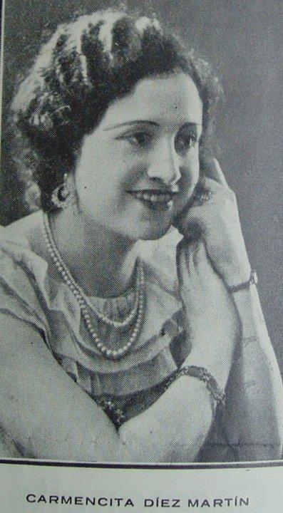 Carmen Díez Martín, profesora de piano