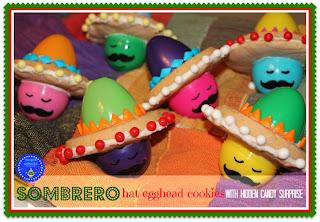 Sombrero Hat Cookies