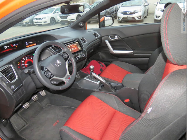 Honda Civic Si 2.4 2016 - interior