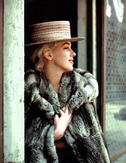 Marilyn Monroe Loca también por los abrigos de piel