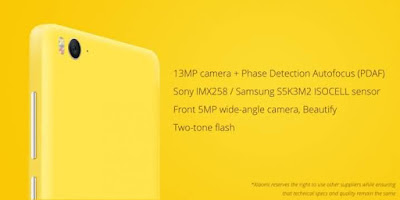 Mi4c Specifications