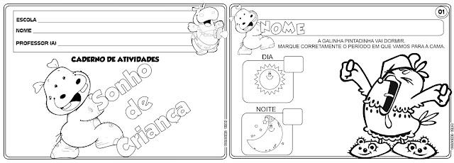 Caderno de Atividades Sonho de Criança