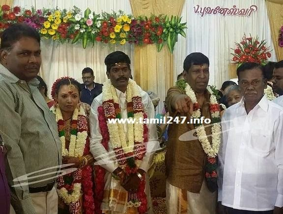 Comedy actor Vadivelu's son Marriage