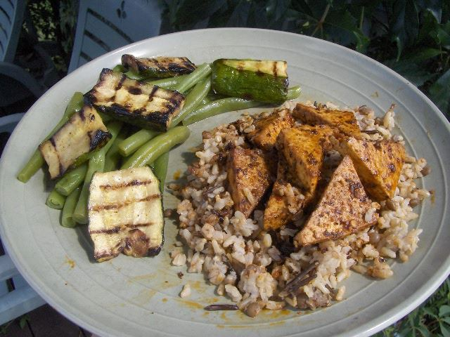 Roasted Cajan Tofu