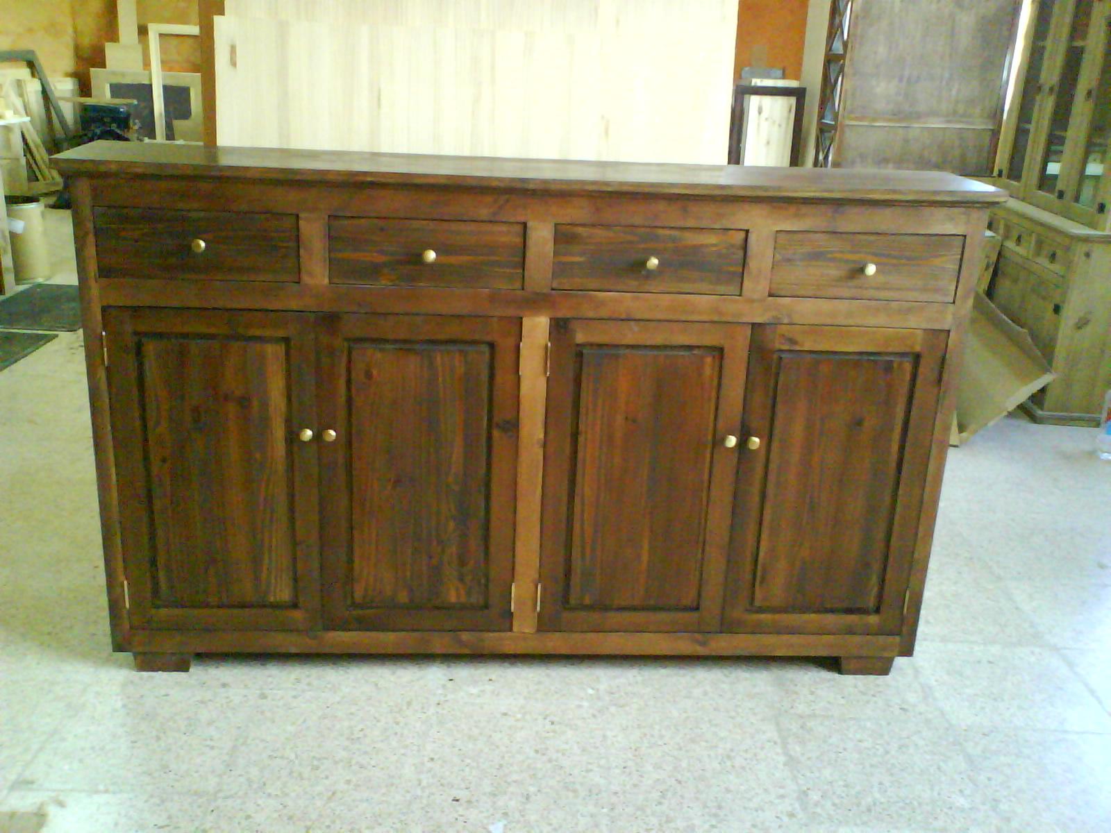 Muebles de roble hernan lopez 20170803140748 - Muebles en madera de pino ...