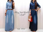Gamis Jeans Washed + Belt SOLD OUT